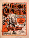At a Georgia Camp Meeting Sheet Music Cover
