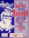 Aunt Hannah: March and Cake Walk Sheet Music Cover