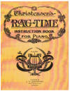 Cover of Christensen's Rag-Time Instruction Book For Piano