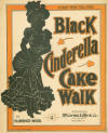 Black Cinderella Cake Walk Sheet Music Cover