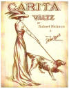 Carita Waltz Sheet Music Cover