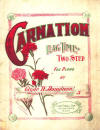 Carnation Rag Two Step Sheet