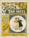 Carolina Tar Heel Cake Walk Sheet Music Cover