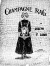 Champagne Sheet Music Cover