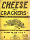Cheese and Crackers Rag Sheet Music