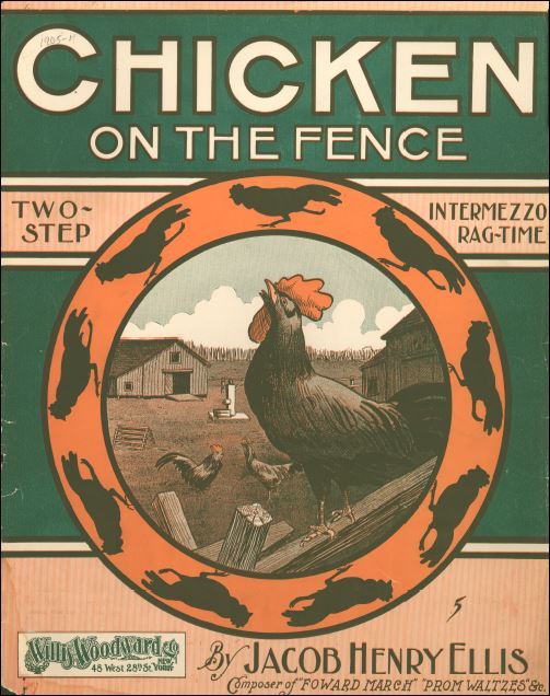 Chicken on the Fence Sheet Music
