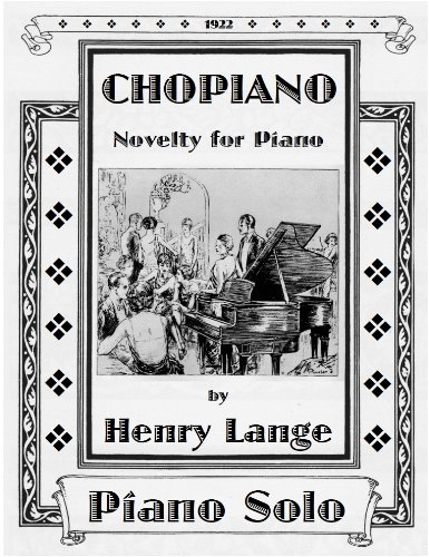 Sheet music cover for Cho-Piano (Henry