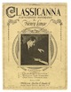 Sheet music cover for Classicana: A