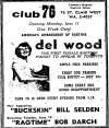 "Newspaper Ad for ""Club