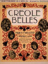 Creole Belles: March-Two-Step Sheet Music Cover