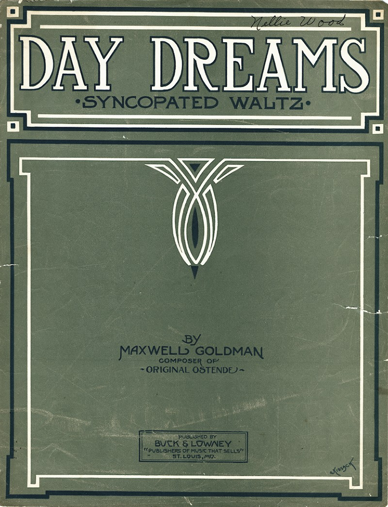 Day Dreams: Syncopated Waltzes Sheet