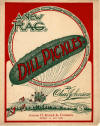 Dill Pickles Rag Sheet Music Cover