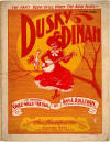 Dusky Dinah: Cake-walk and Patrol Sheet Music Cover