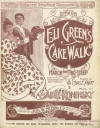 Eli Green's Cake Walk Sheet Music Cover