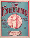 The Entertainer Sheet Music Cover