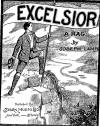 Excelsior Rag Sheet Music Cover