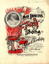 May Irwin's Frog Song Sheet Music Cover