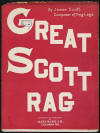 Great Scott Rag Sheet Music Cover
