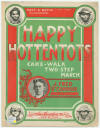 Happy Hottentots: Cake - Walk Sheet Music Cover