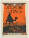 Across the Hot Sands March Sheet