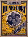 Hunky-Dory: Characteristic Cake Walk, March, and Two Step Sheet Music Cover
