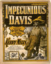 Impecunious Davis: Characteristic Two-Step, March and Cake-Walk Sheet Music Cover