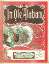 In Ole Alabam: Rag Time Cake Walk and Two-Step Sheet Music Cover