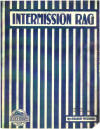 Intermission Rag Sheet Music Cover
