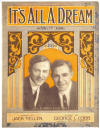 It's All A Dream Sheet Music Cover