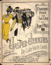 Jasper Jenkins: Characteristic Two-Step Sheet Music Cover