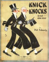 Knick Knocks Rag One-Step Sheet