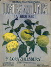 Lemons And Limes: A Sour Rag Cover