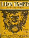 The Lion Tamer Rag: A Syncopated