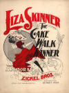 Liza Skinner: De Cake-Walk Winner Sheet Music Cover
