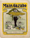 The Main Gazabo at a Corn Party: Cake Walk Sheet Music Cover
