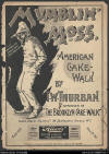 Mumblin' Moss: American Cake-Walk Sheet Music Cover