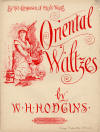 Oriental Waltzes Sheet Music Cover