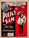 Policy Sam: Cake Walk & Two Step Sheet Music Cover