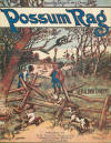 Possum Rag Sheet Music Cover