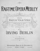 Sheet music cover for Ragtime Opera