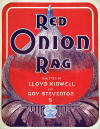 Red Onion Rag Sheet Music Cover
