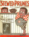 Stewed Prunes Slow Drag Sheet Music