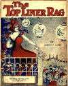 Topliner Rag Sheet Music Cover