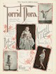 Torrid Dora Sheet Music Cover Sheet