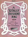 A Totally Different Rag Sheet Music