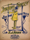 Trombone Johnsen: Rag Time Cake Walk Sheet Music Cover