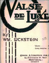Valse de Luze Sheet Music Cover