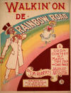 Walkin' on de Rainbow Road Sheet Music Cover