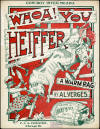Whoa! You Heiffer Sheet Music Cover